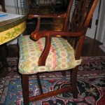 Elainahill jacksonville st johns custom drapery pillows slipcovers upholstery dining chair