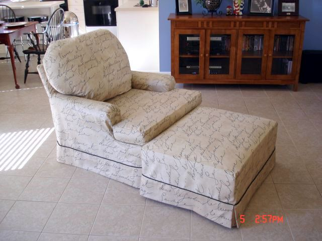 Chair And Ottoman Covers